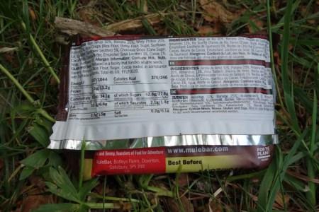 Test MuleBar Energy Bar 5