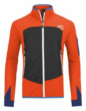 Ortovox MERINO-SHIELD-SHELL-JACKET-PIZ-BADILE-M-60126-crazy-orange-MidRes3