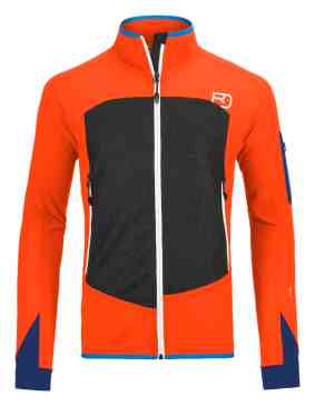Ortovox MERINO-SHIELD-SHELL-JACKET-PIZ-BADILE-M-60126-crazy-orange-MidRes3