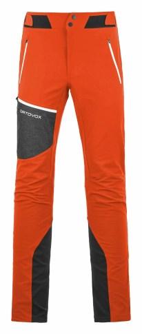 Ortovox MERINO-SHIELD-SHELL-PANTS-PIZ-BADILE-M-60157-crazy-orange-MidRes6