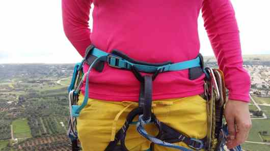 Test Klettergurt Salewa Rock W Harness4