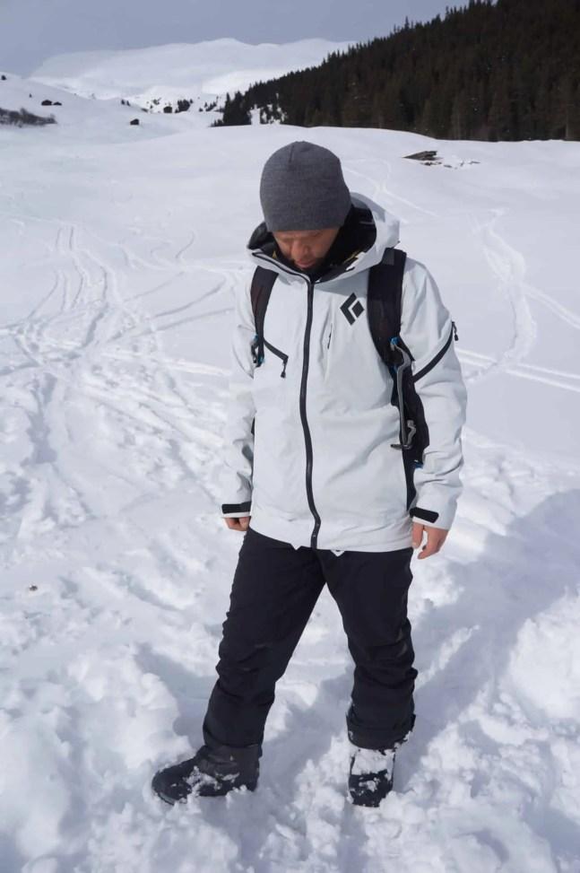 Black Diamond Recon Ski Shell 06