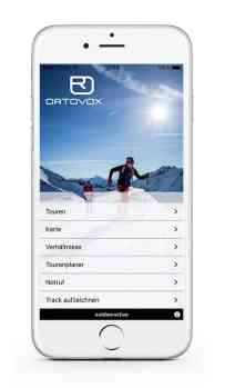 Ortovox Bergtouren App OVX_TourenApp_iPhone_Startscreen5