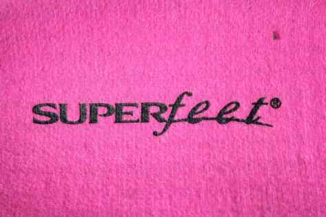 Superfeet Hot Pink 1
