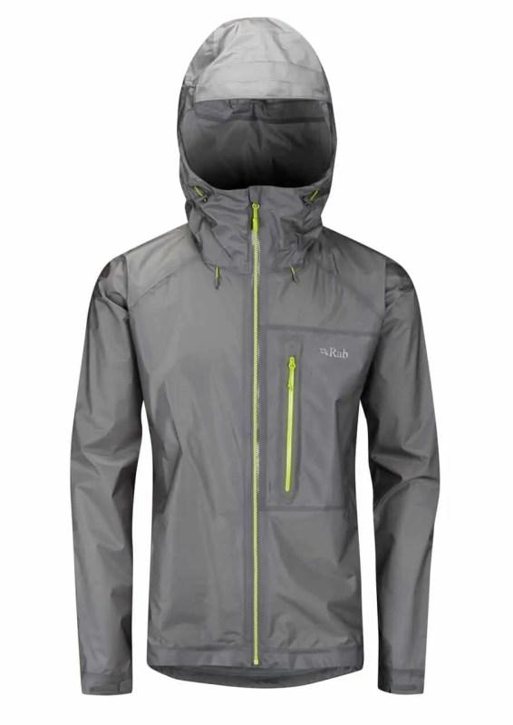 Pertex Rab Flashpoint Jacket grau