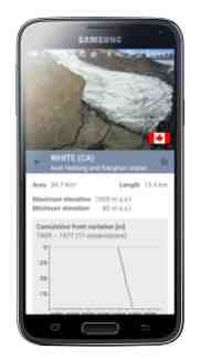 wgms Gletscher App 2