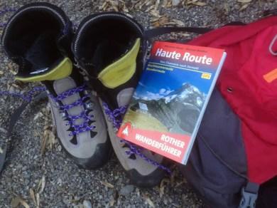 Roter Wanderführer, Haute Route