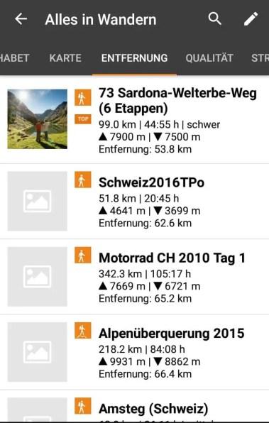 Wandern in der Schweiz 1