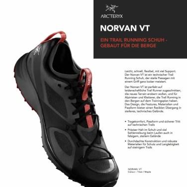 Arcteryx Norvan VT Trailrunning Schuhe 2017 Tech_Sheet 1