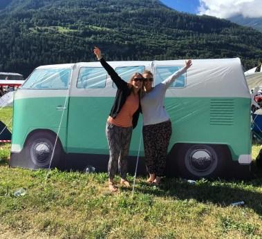 cooles VW-Bus Zelt