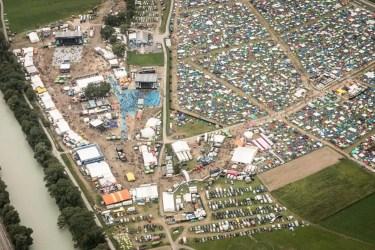 Zelt- und Festivalgelände