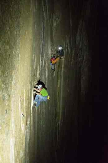 Adam Ondra on his Dawn Wall Push. Crux and Up. Pitch 15