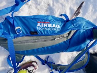 Test Mammut Ultralight Removable Airbag 3.0 11