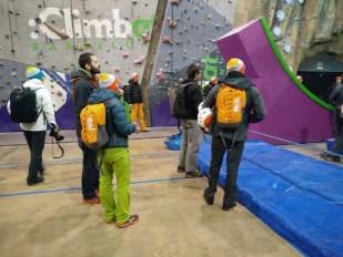 Schlecht Wetter Programm: Klettern in der Halle
