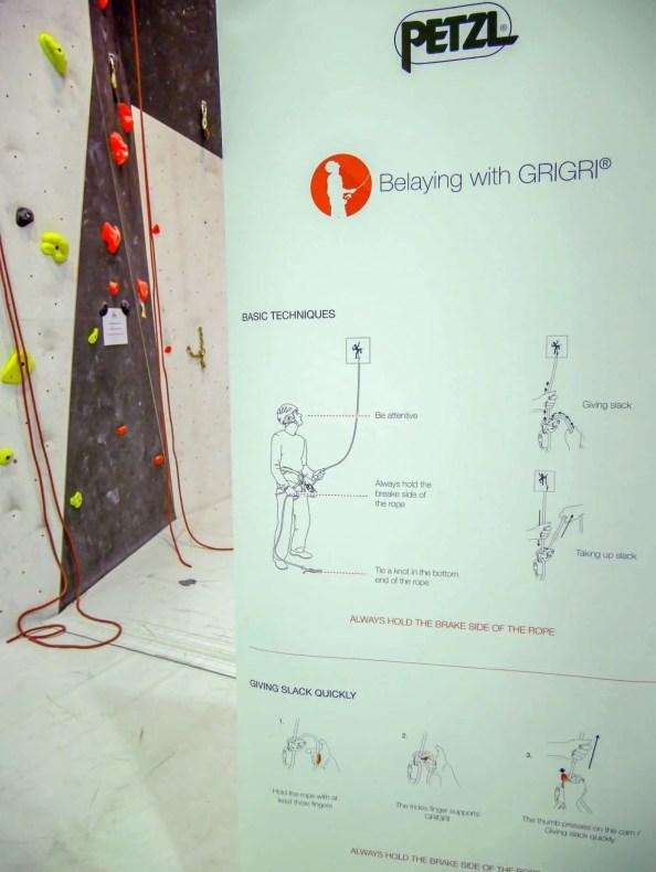 Rollup Info: Wie sichert man mit dem Grigri
