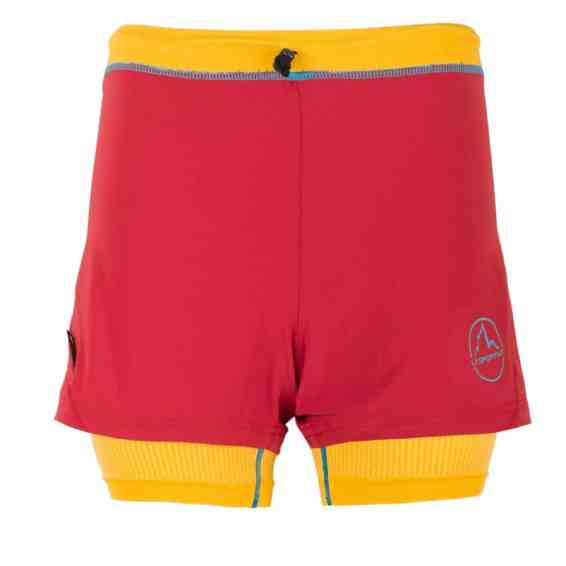 La Sportiva_Vibe Short W_Berry-Yellow