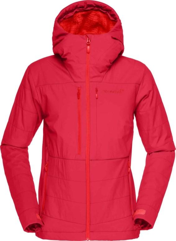 lofoten Powershield Pro Alpha Jacket W_Rebel Red