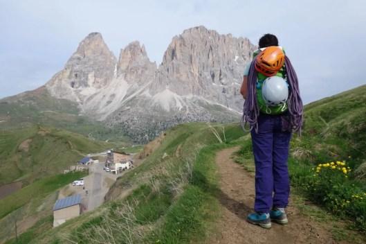 auch zum Klettern ein treuer Begleiter