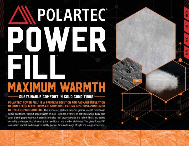 Polartec Power Fill Polartec Power Fill back3