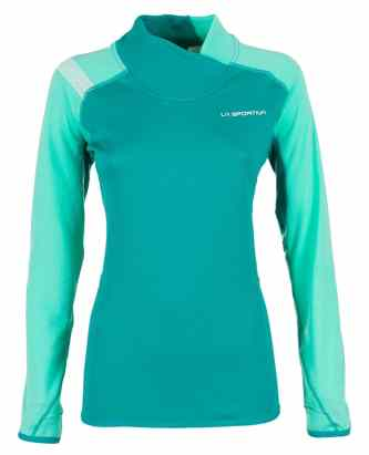 La Sportiva_Muse Long Sleeve_Emerald-Mint