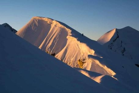 Leichte 4000er Alpen (c)Caroline Fink 140717_003_Pollux_Bivacco_Breithorn3
