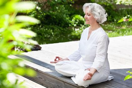 Meditation hält fit - geistig und körperlich.