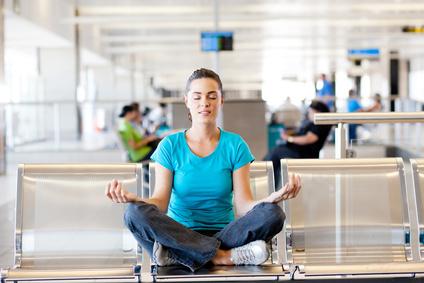 Meditation, wo man gerade ist: Das muss keine Notlösung sein.