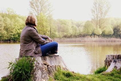Achtsamkeitstraining kann vor einem Depressionsrückfall bewahren.