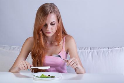 Mit Achtsamkeit gegen Bulimie oder Anorexie.