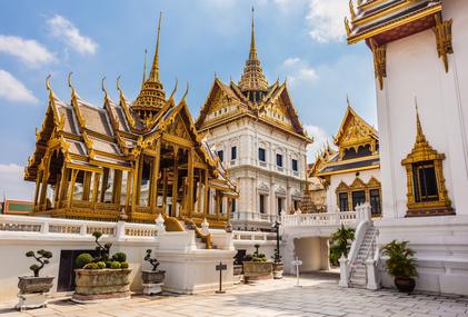 Es gibt in Thailand viele Kloster, die Retreats anbieten.