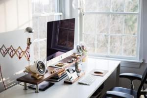 PC, computer, icha, online studeren, onderwijs van thuis uit, thuis leren
