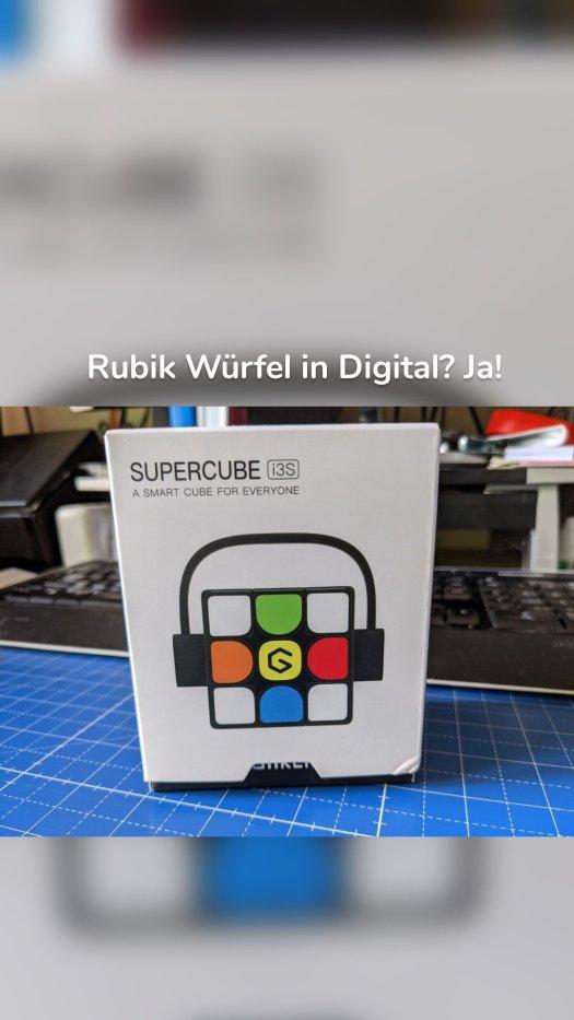 Rubik Würfel in Digital? Ja!