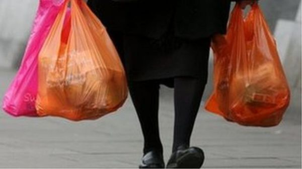 Plastic bag use down 72% in Northern Ireland since 5p ...