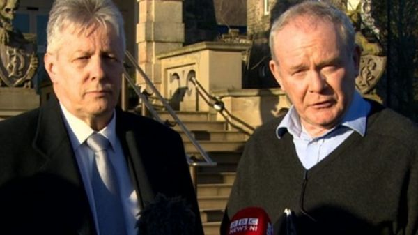 Progress made at Stormont talks say Peter Robinson and ...
