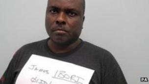 James Ibori in police hand-out