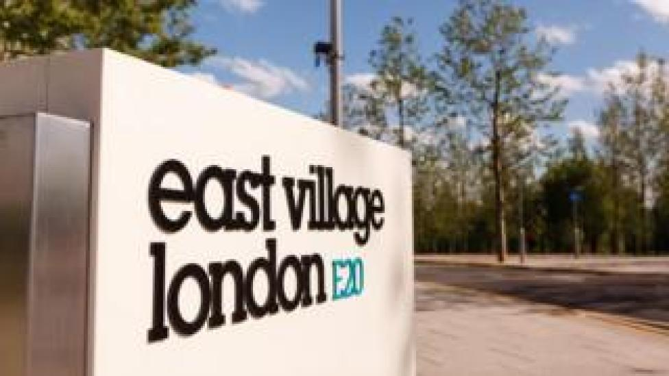 Sign to East London Village