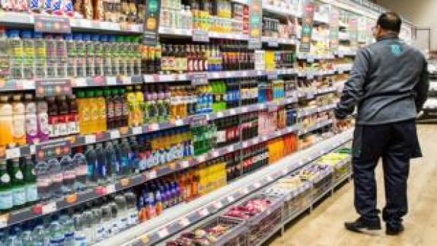 Inside a Co-op store