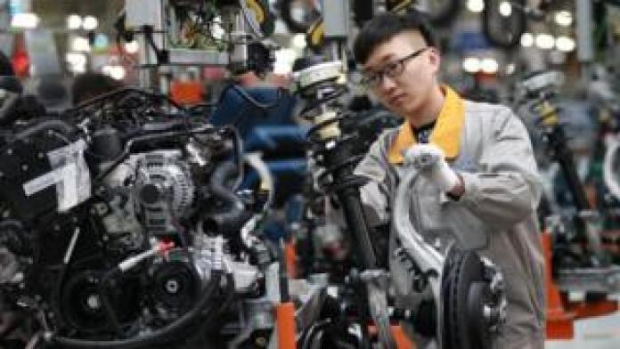 China auto factory