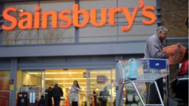 A Sainsbury's supermarket in London