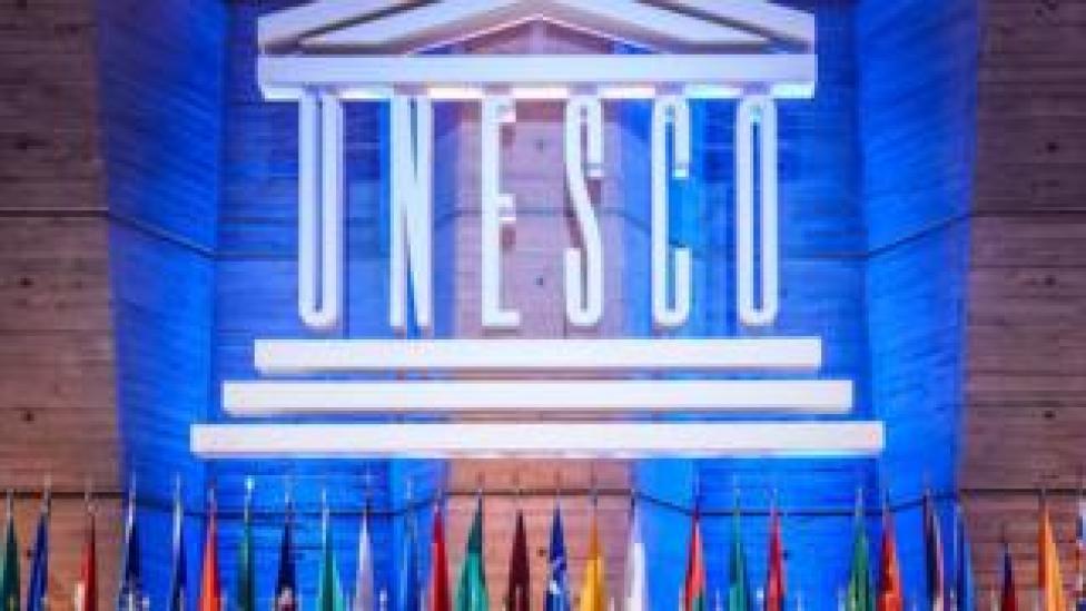 Imagen del logo de la Unesco