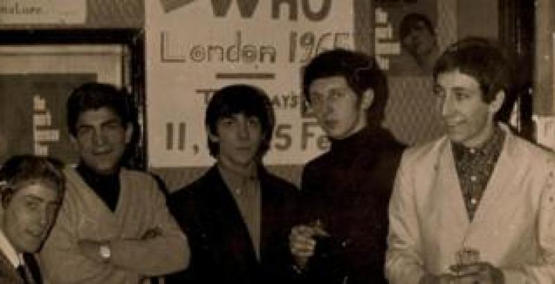 The Who and Fery Asgari in 1965