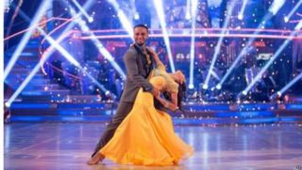 Aston Merrygold dancing