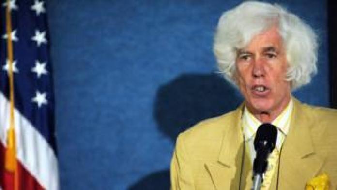 Dr. Esmond Martin speaking on May 5, 2008 in Washington, DC