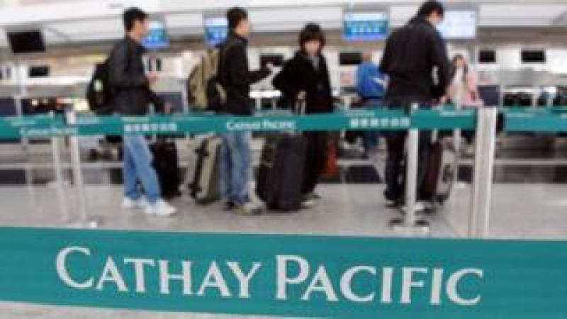 Cathay Pacific passengers