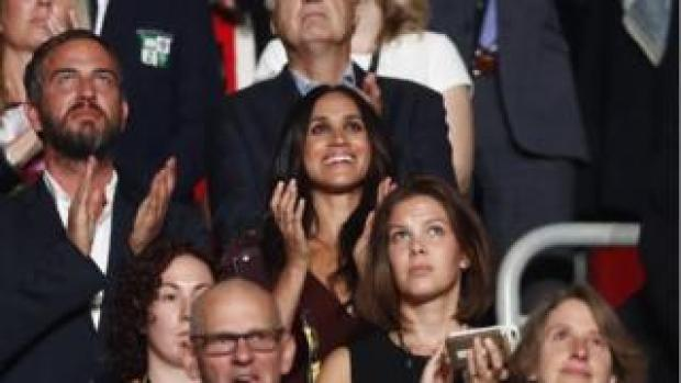 Meghan Markle at Invictus Games opening ceremony