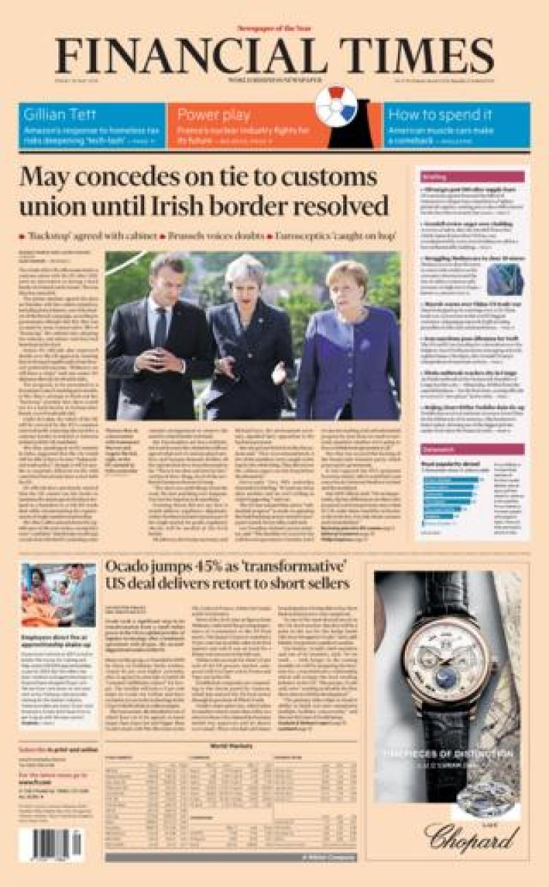 Financial Times Friday
