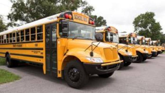 FirstGroup school bus in US