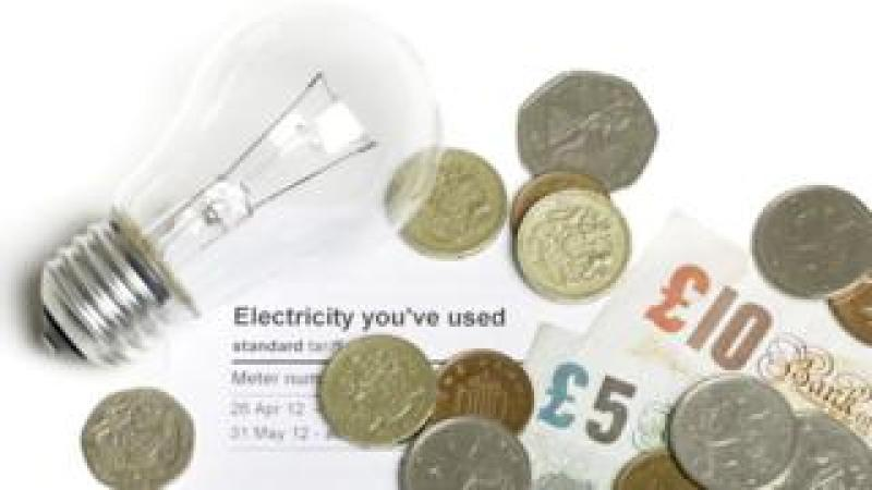 energy bill + lightbulb