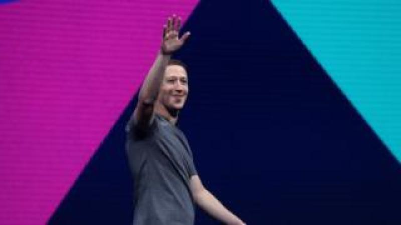 Facebook CEO Mark Zuckerberg delivers the keynote address at Facebook's F8 Developer Conference on April 18, 2017 at McEnery Convention Center in San Jose, California