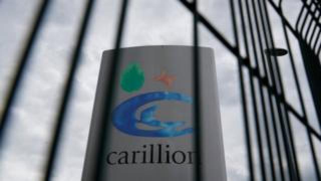 Carillion sign
